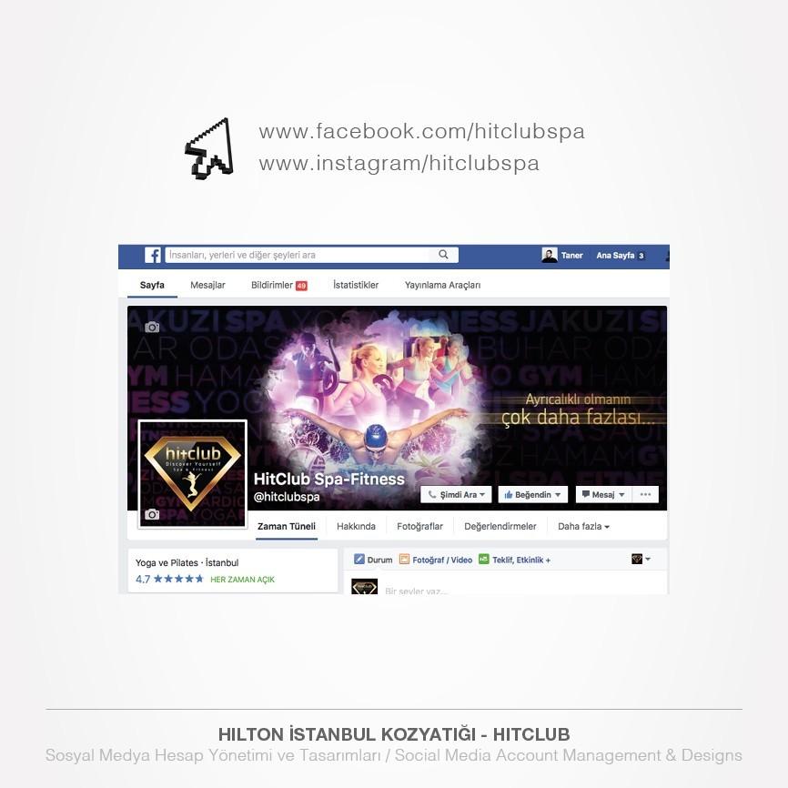 138 taner ugan portfolyo hilton istanbul kozyatagi hitclub spa fitnes facebook icerik yonetimi