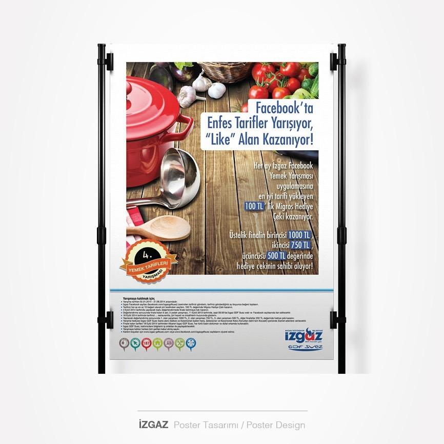 155 taner ugan portfolyo izgaz poster tasarimi