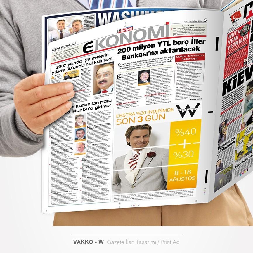 182 taner ugan portfolyo vakko w gazete ilani