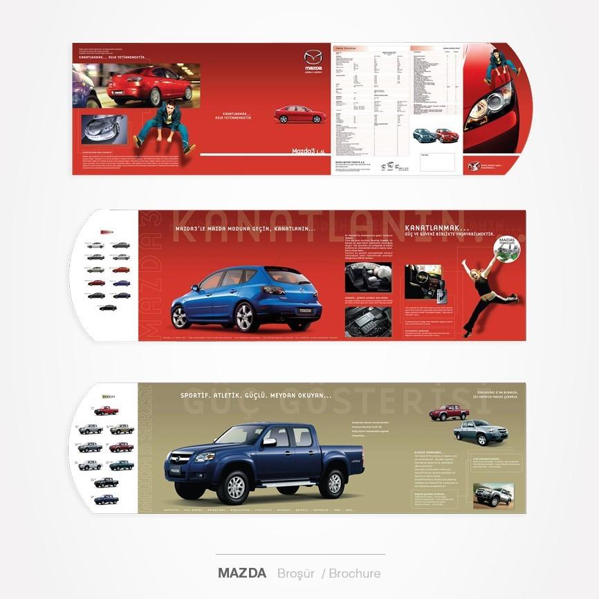 20 taner ugan portfolyo mazda3 b serisi flyer tasarimi