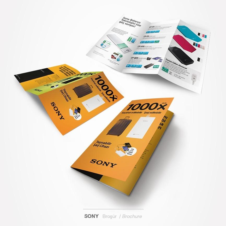 21 taner ugan portfolyo sony charger flyer tasarimi