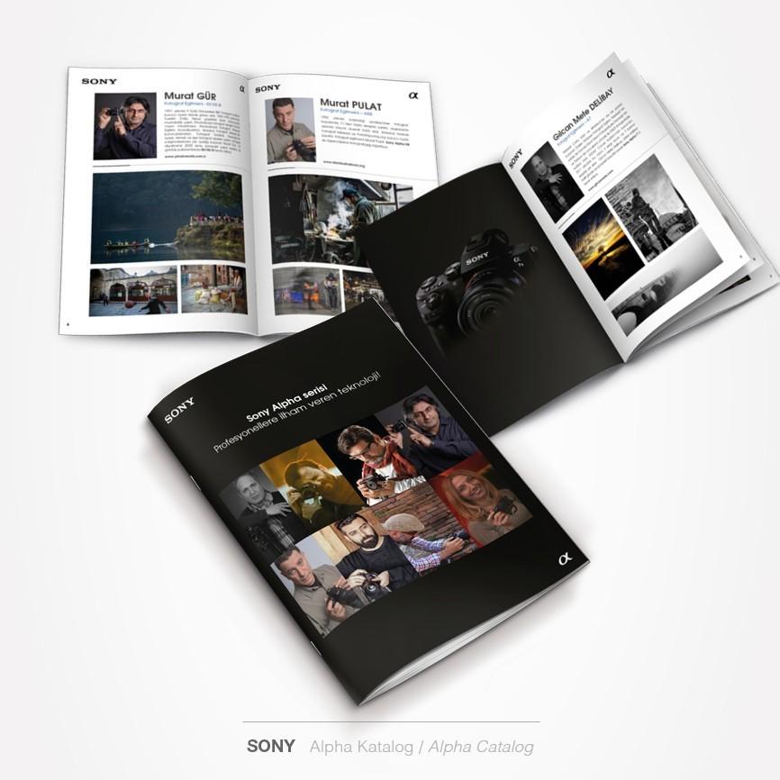 23 taner ugan portfolyo sony alpha katalog tasarimi