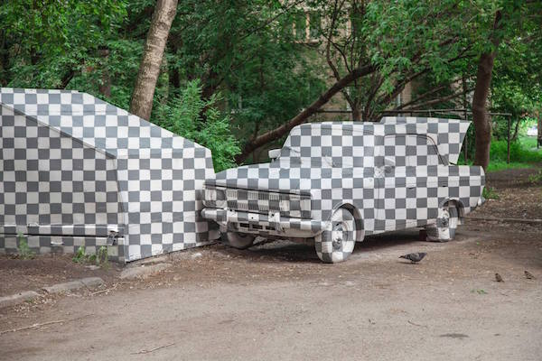 TADU Reklam Ajansi Blog Rus Sokak Sanatı Delete CtrlX Art Sil Photoshop